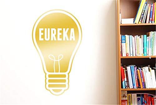 stickers muraux disney noir et blanc Eureka Ampoule