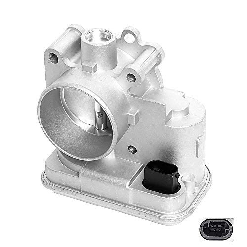 HY-SPEED 201-001 Electronic Throttle Body Compatible with Caliber Patriot Avenger Compass Journey Sebring 200 1.8L 2.0L 2.4L 04891735AC 4891735AC 4891735AD 977-025 977025 (2007-2017)