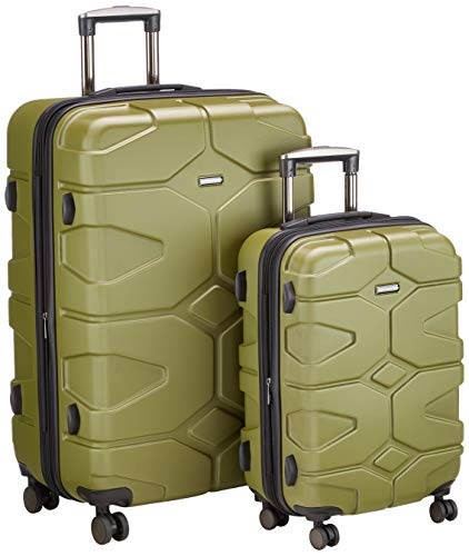 Hauptstadtkoffer - X-Kölln - Luggage Suitcase Hardside Expandable Trolley 4 Wheel Spinner, TSA Lock, 76 cm, 120 Liter, Olive Green