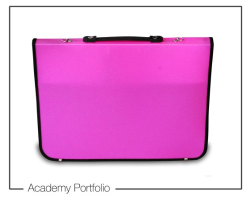 Artcare Künstlermappe (15922011 94 x 4 x 66.5 cm, A1, Synthetisches Material Academy Portfolio, Pink