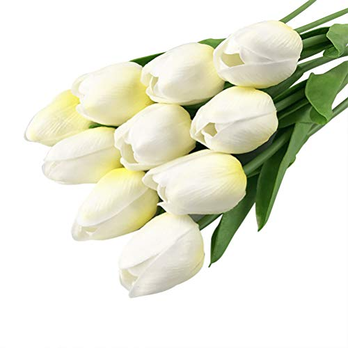 Vosarea Artificial Tulips Real Touch Tulipanes Flores Faux Tulip Flowers