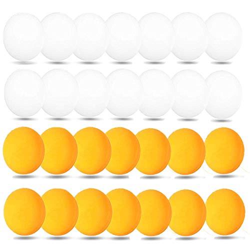 mengger Pelotas de Ping Pong Tenis Mesa Bolas de Lotería Cerveza 40 Piezas Bolas Entrenamiento en Series Torneo Juegos para Adultos y Niños Color al Azar Ping-Pong Pelota