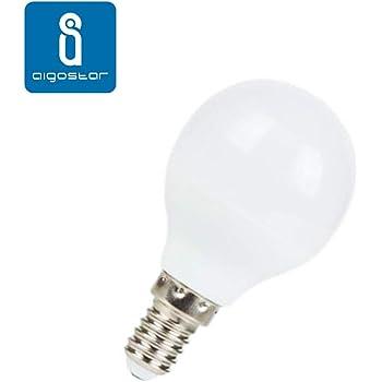 Pack 5 Bombillas Aigostar 17553 LED A60 E14 9W Bombilla LED 765 ...
