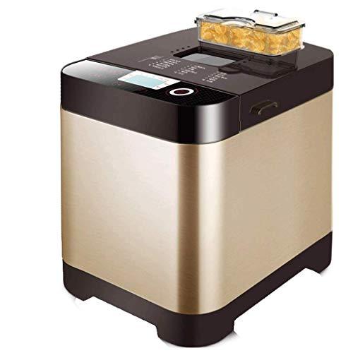 ZGQA-GQA Máquina for Hacer Pan Multifuncional automática máquina de Pan Cafetera, amigable for los Principiantes Breadmaker con Gran versatilidad