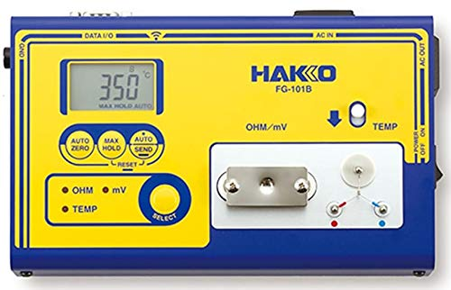 Review Hakko FG-101B - Soldering Iron Tester with Calibration Certificate