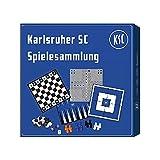 Karlsruher SC Spielesammlung, Gesellschaftsspiel, Spiel KSC - Plus Lesezeichen Wir lieben Fußball