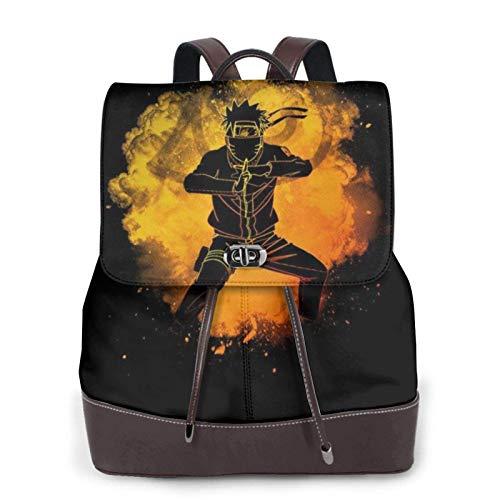 Soul of The Ninja Women's Bapack, College Girl School Bag, Ladies Travel Bapack, Ladies Leather Bapackck