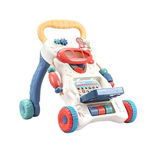 UKtrade - Cochecito de juguete multifunción para niños de 9 a 16 meses para aprender a caminar