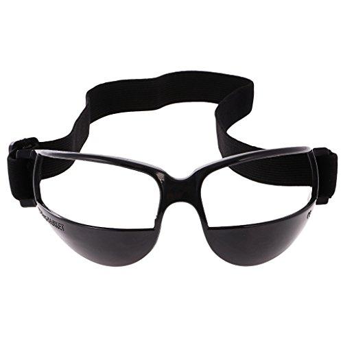 B Baosity 5er Set Basketball Dribble Brillen Sport Dribbelbrille Eyewear für Trainingshilfe - 1pcs Schwarz