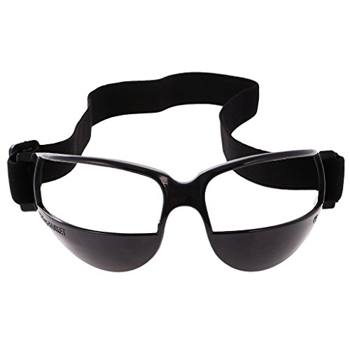 Basketball Trainingsgerät Basketball Dribble Trainingsbrille - 1pcs Schwarz