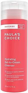 Paula's Choice Defense Gel to Cream Gezichtsreiniger - Milde Gezichtsreiniging vertsterkt de Huidbarrière & Verwijdert Mak...