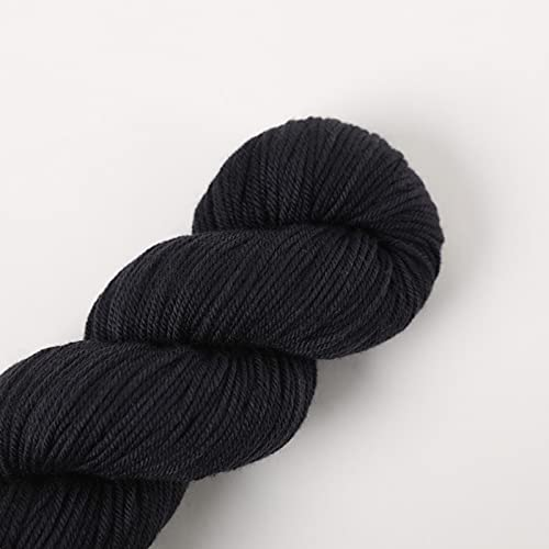 SHIKE Lana de merino para punto o ganchillo, 100% lana de merino, 100 g, hilo de merino, hilo para...