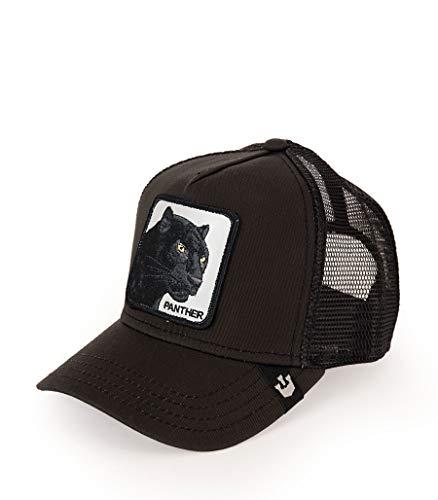 Goorin Bros Trucker Baseball Black Panther Animal Farm Hombre Negro, 1010465 Negro Talla única