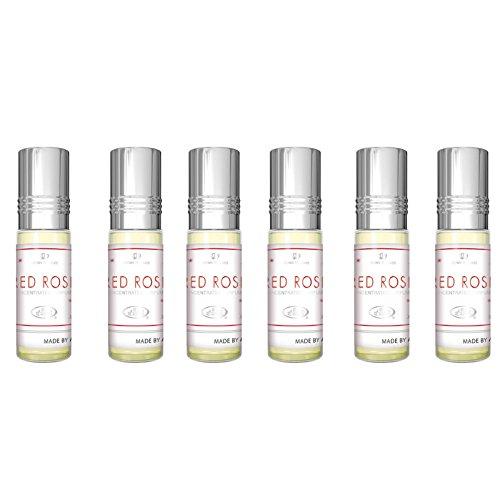 Al Rehab Rosentrot parfümöl - 6 x 6ml by al rehab