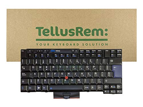 Teclado de respuesto Español sin retroiluminación para Lenovo Thinkpad T520 T520i...