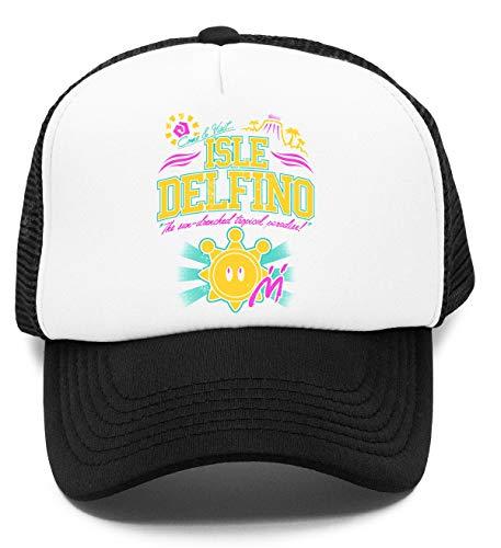 Vendax Isle Delfino Niños Gorra De Béisbol Baseball Rapper Cap