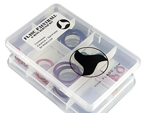 Spyder Paintball universel 5/x CODE couleur Paintball Joint torique Rebuild Kit de flasc Paintball