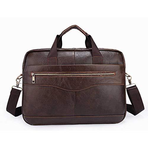 Laptop Bag Briefcase Fits 14 Inch Laptop, Water-Repellent Shoulder Messenger Bag Computer Bag for Travel, School-B