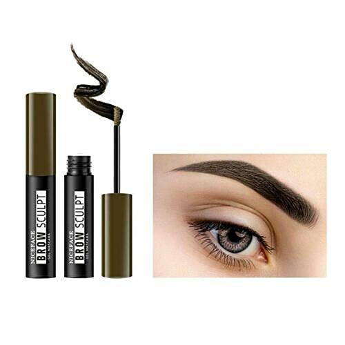 Enhancer Sourcils, Gel Sourcils Imperméable Crème Sourcils Tatouage Sourcils Longue Durée Fine Liquide Brow Peinture Maquillage 4 Couleurs (#02)