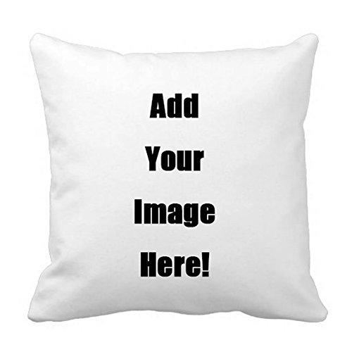 Shop&Three Custom Design Photos or Text Outdoor/Indoor Throw Pillowcase Personalized Pet Photo Pillow  Love Photo Throw Pillow Wedding Keepsake Throw Pillow 18  x 18