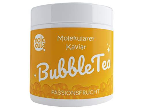 Bubble Tea Popping Boba Weniger Zucker Molekularer Kaviar Maracuja 800g Fruchtperlen ohne künstliche Farbstoffe