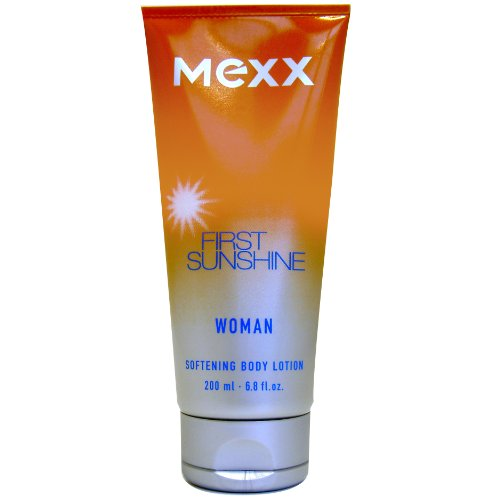 Mexx First Sunshine Woman Body Lotion (Softening) - Tube 200ml, 1er Pack (1 x 200 ml)