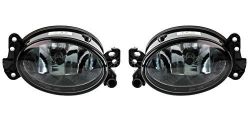 2 faros antiniebla con 2 bombillas H11 0158-11 de repuesto para W169 W204 S204 W211 S211 CLK A209 CLS SL R230 W164 X164 W463 W251 V251