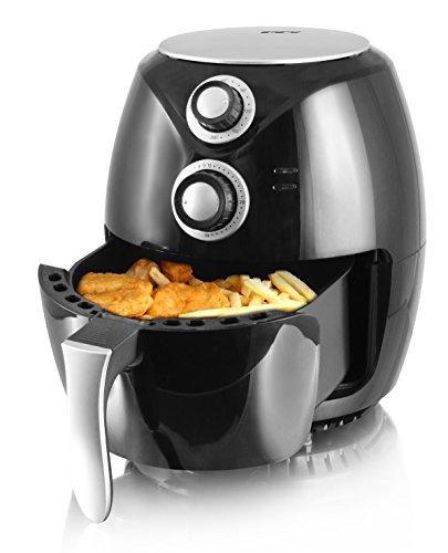 """Emerio Heißluftfritteuse, Airfryer, Smart Fryer, Test \""""GUT\"""", Frittieren ohne Öl, 3,6 Liter Volumen, 1400 Watt, AF-112828"""