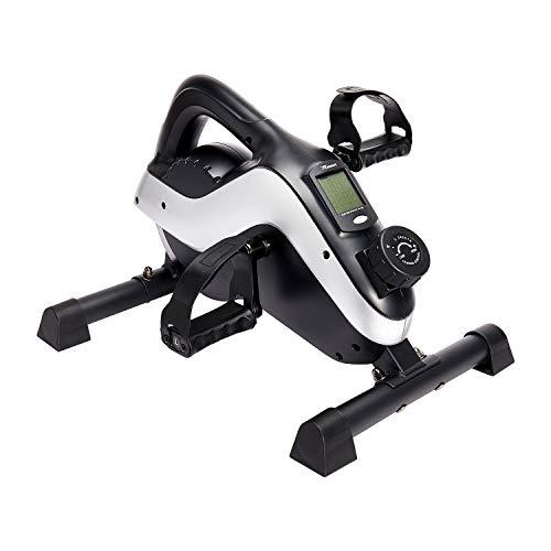 Reehut Mini Bicicleta Spinning, Mini Bici Estática Pedales Estaticos con 8 Niveles de Resistencia Magnética para Brazos y Piernas, para Hacer Deporte Fitness en Casa Oficina