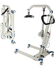 SKSNB Elevador de Pacientes eléctrico, Dispositivo de elevación de Pacientes médicos para discapacitados, Seguro/útil/fácil/portátil, Capacidad de Peso de 397 LB