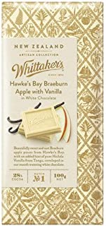 ウィッタカー アップル&バニラ ホワイトチョコレート 100g