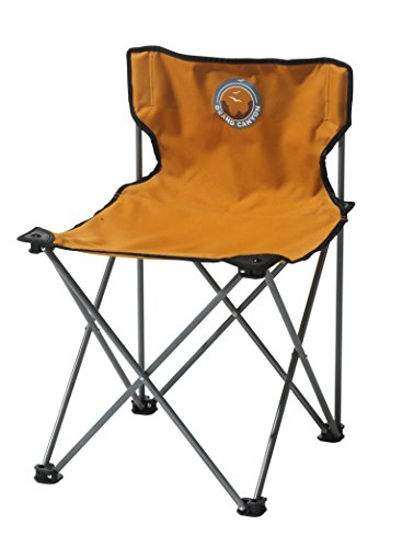 GRAND CANYON Minima - faltbarer Campingstuhl, Stahl, orange/grau, 308010