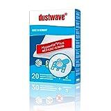 Dustwave® - 20 Sacchetti per aspirapolvere adatti per aspirapolvere Hoover Micro Space SCT 44, Made in Germany, con microfiltro