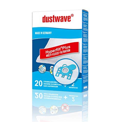 Megapack - 20 Staubsaugerbeutel | Filtertüten | Staubfilter passend für Expert - 3101 EXP Staubsauger - dustwave® Markenstaubbeutel/Made in Germany + inkl. Microfilter