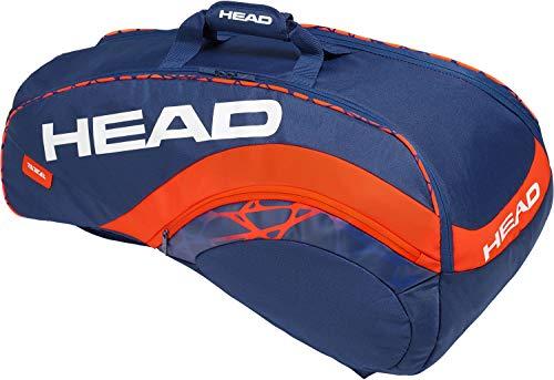 HEAD Radical 9R Supercombi Klassische Sporttaschen, dunkelblau, 7-9 Tennisschläger
