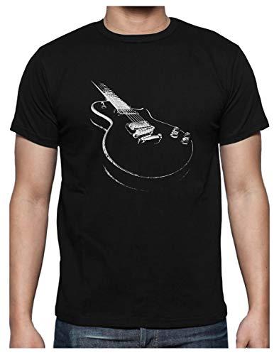 Camiseta para Hombre - Camisetas Guitarra Electrica Camisetas Hombre Rock - X-Large...