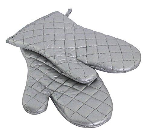 Gants anti-oxydants de four de four à micro-ondes de four à micro-ondes d'isolation thermique d'isolation thermique d'argent