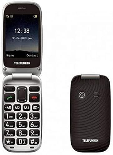 Telefunken S540 - Teléfono móvil, Negro