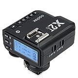 【電波法認証取得】Godox X2T-O ワイヤレスフラッシュトリガー 送信機 フラッシュトリガー TTL機能 LCDパネル搭載 1/8000s Bluetooth内蔵 Olympus/Panasonicカメラ&スマホ(iphone、HUAWEI、Samsung)対応