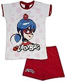Miraculous Ladybug - Pijama corto para niña Rojo rosso 9 años