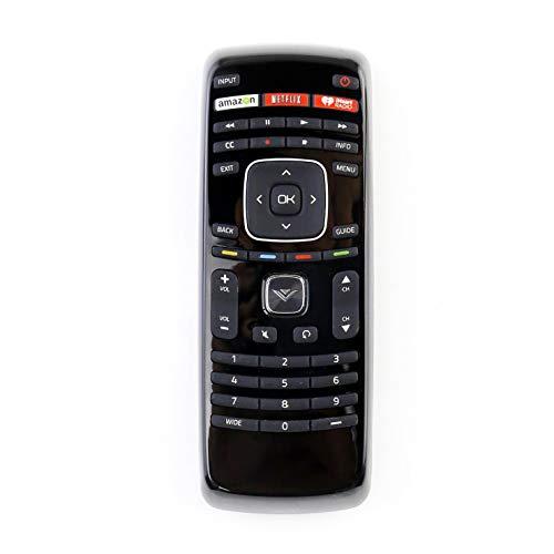 New XRT112 Remote Control fit for VIZIO LCD LED Smart TV with Netflix iHeart Radio App Key E28HC1 E320I-B2 E390IB0 E400I-B2 E32h-c1 HDTV E500D-A0 E480I-B2 E420I-B0 E420I-A0 E420-A1 E401I-A2 E320I-B1