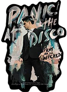 """Panic! At The Disco City, Pray For The Wicked - Artwork Vinyl - Decal STICKER - 3.8"""" X 5.4"""""""