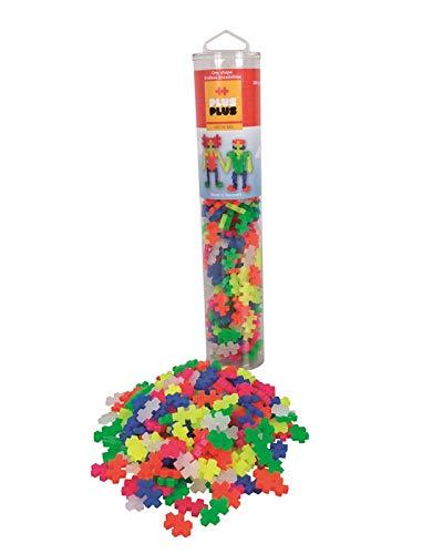 Plus-Plus 300.4186 Neon Tube (240 pz), Multicolore