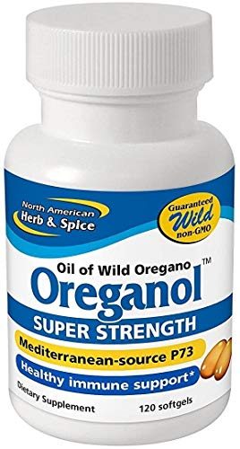 Oreganol P73, Super Strength - 120 Softgels by North American Herb & Spice