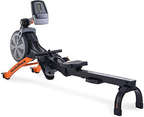 JWCN Übung Fitness Rudergeräte Rudergerät Luftwiderstand Magnetsteuerung Rudergerät Home Indoor Fitness Trage Uptodate