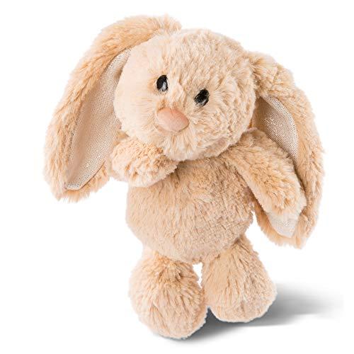 NICI 46333 Kuscheltier Hase Hellbraun 20cm – Plüschtier für Mädchen, Jungen & Babys – Flauschiges Stofftier zum Spielen, Sammeln & Kuscheln – Gemütliches Schmusetier
