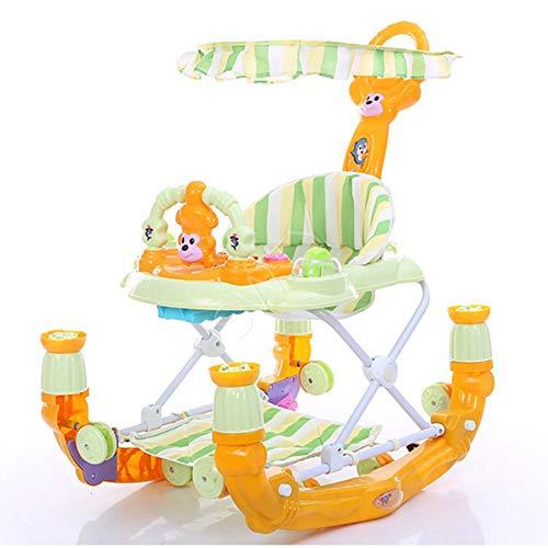 HJSM Lauflernhilfe Für Babys Madchen, Lauflernhilfe Gehhilfe Für Baby, Laufwagen Für Babys 2In1, Lauflernwagen Baby, Baby Walker with Wheels,C