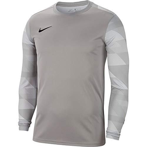 Nike Herren Park IV Jersey Longsleeve Goalkeeper Torwarttrikot, Pewter Grey/White/Black, XL