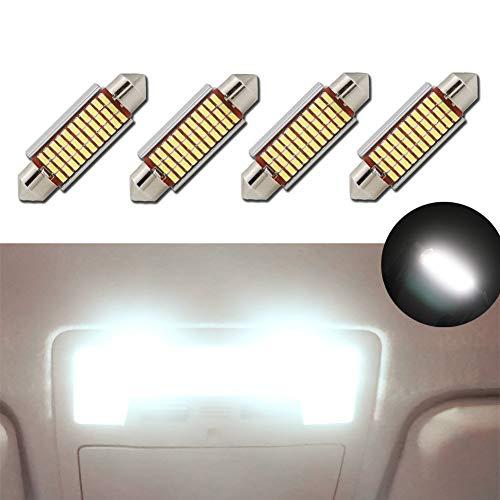 LED Bombillas Festoon 42mm Canbus Error Blanco E3175 DE3021 DE3022 LED Car Interior Luces Bombillas 12v 5050 para Válvula Espejo Dome Placa de Luz