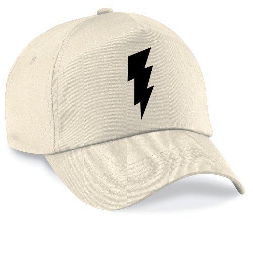 Casquette shazm flash bazinga movie capy cap taille style unisexe nombreux coloris disponibles Mixte Beige - naturel